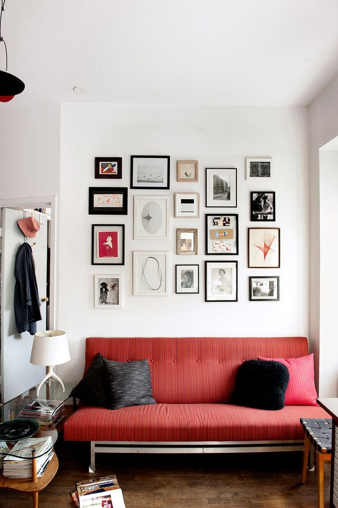 Small but full gallery wall