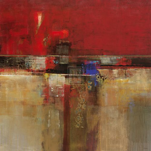 Crimson Wash - by John Douglas