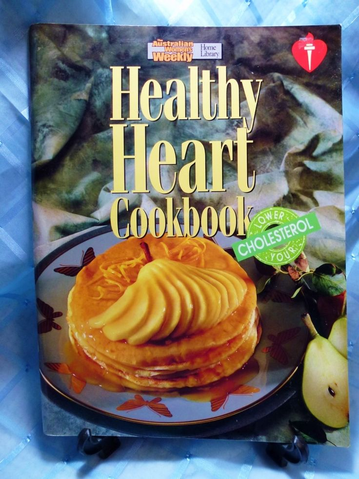 Vintage Australian Women's Weekly Cookbook - Healthy Heart  Wonderful Recipes that can help your heart be Healthier! Endorsed by the National Heart Foundation - Australia Published in 1990 in Australia