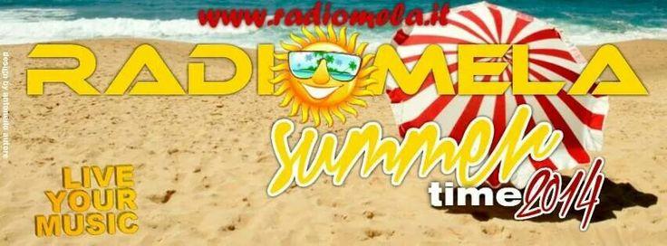 La radio che ti segue anche in vacanza. Scarica l'applicazione gratuita per il tuo Smart Phone.  Scopri come su http://www.radiomela.it