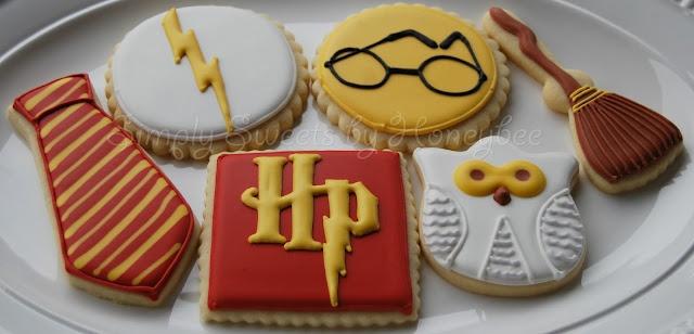 Harry Potter cookies.  Love.