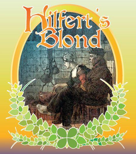 Hilfert's Blond / Een zomers boeket met een fruitige neus, afgerond met een uitgebalanceerd bittertje van drie verschillende hopsoorten.
