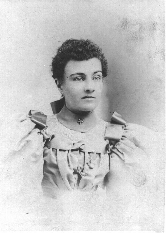 Nellie Bartlett Catchim 'Bessie' Earp wife of James Earp