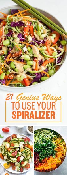 And once you've got it, here are 21 cool recipes to in-spira-lize you. LOL, sorry.