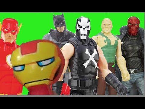 Homem de Ferro Flash Batman  Ossos Cruzados Homem Areia Caveira Vermelha...