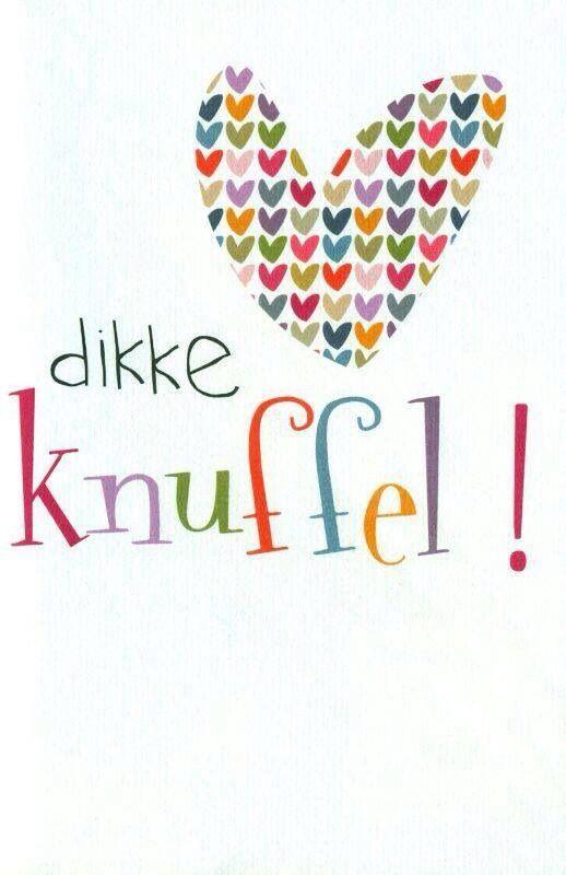Poster - dikke knuffel