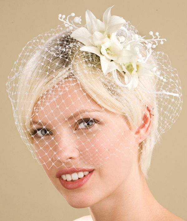 Wedding Veils And Headpieces For Short Hair Best Styles