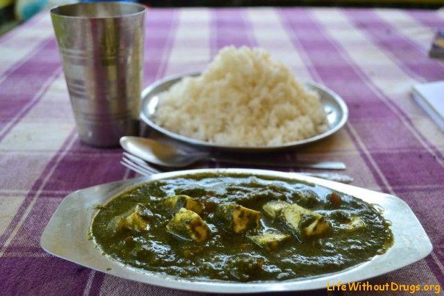 Индийская кухня. Готовим Палак Панир и чай Масала.