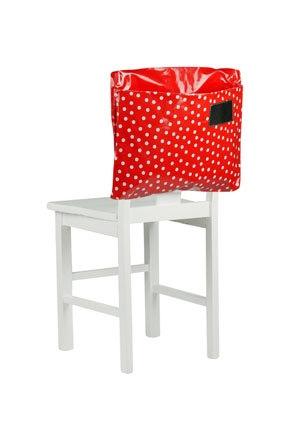 Red Spots Chair Bag