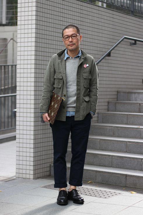 ストリートスナップ渋谷 - 鈴木哲也さん - LOUIS VUITTON, ルイヴィトン