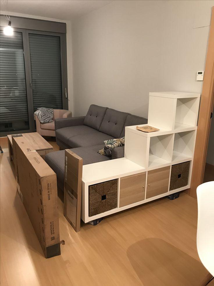 Ikea Diy Hack En 2020 Mueble Divisor De Ambientes Diseno De