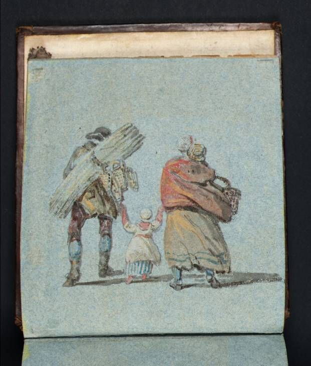 J.M.W. Turner sketchbook you can find this at the Tate online - I love the sea sketches