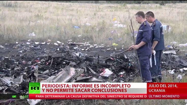 """""""El informe holandés sobre el MH17 no permite sacar conclusiones"""""""