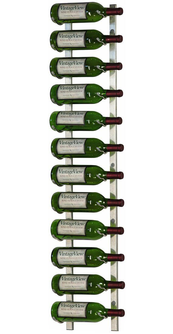 Vintageview Ws41 P 12 Bottle Wall Mounted Metal Hanging Wine