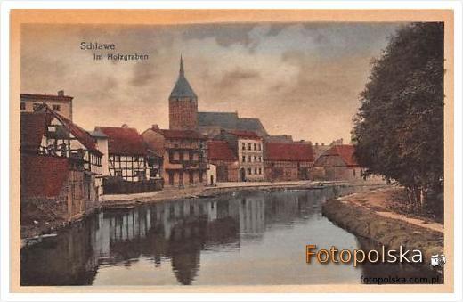 Pocztówka niedatowana - Im Holzgraben