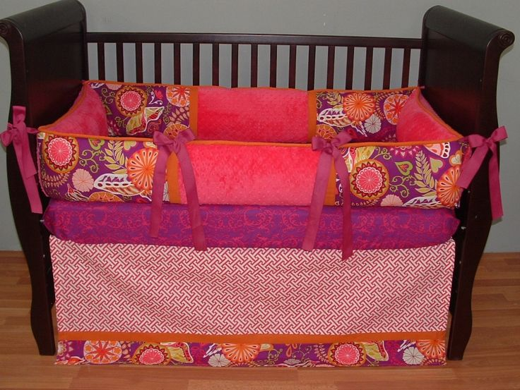 Best 150 Best Baby Girl Bedding Sets Images On Pinterest Cots 640 x 480