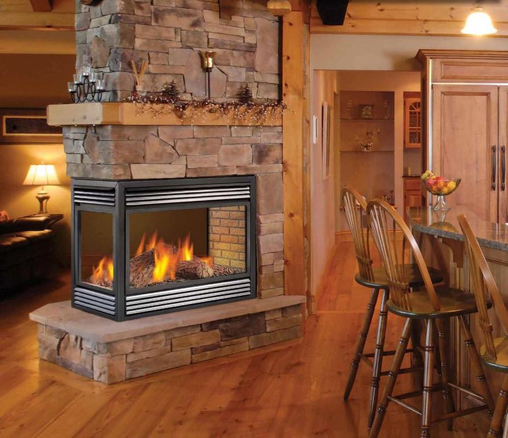 Best 25+ Small gas fireplace ideas on Pinterest   White dining ...
