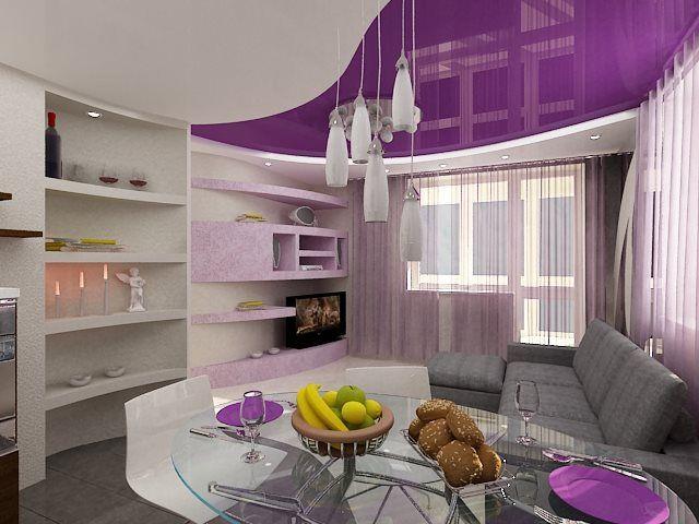сообщение Алиция_Гадовская : Дизайн гостиной в серо-сиреневых тонах (10:58 07-05-2014) [1868538/323745735] - nmaca@mail.ru - Почта Mail.Ru