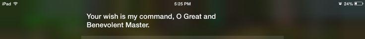 I love Siri...