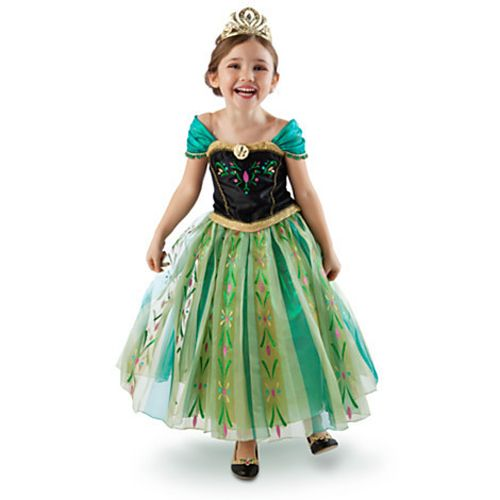 There are girls' kids' dresses of Disney's Frozen Queen Elsa and Princess Anna on a great deal right now on ebay.com. Individual Elsa & Anna dresses are $14.38 with free shipping! If you are looking for a Frozen costume for...