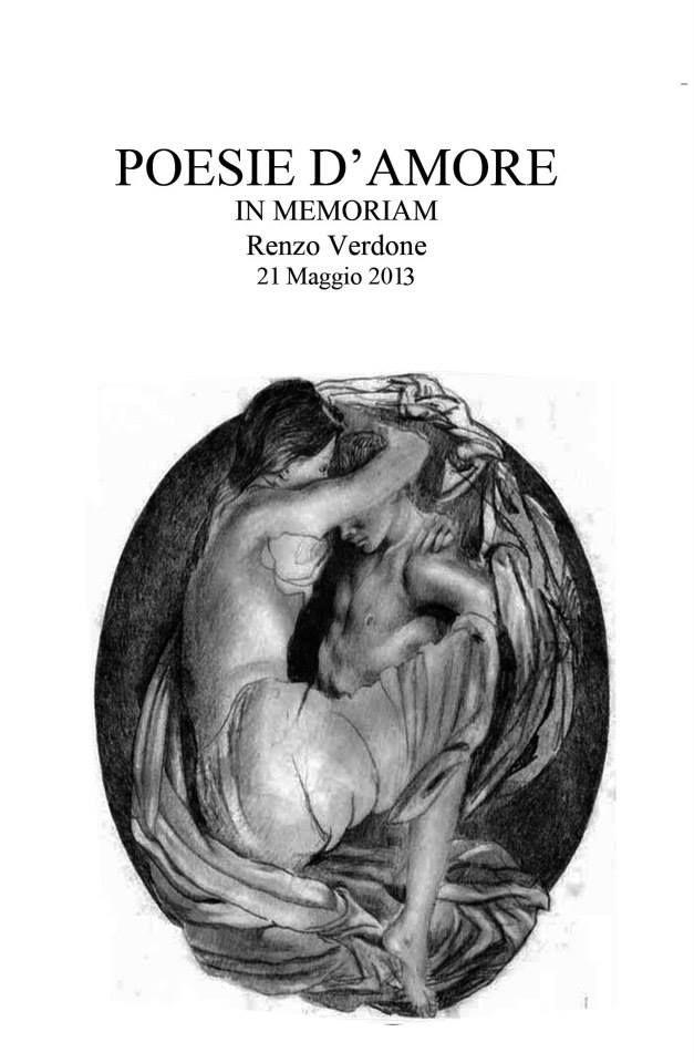 copertina del libricino-ricordo- il disegno raffigurato è del maestro Renzo Verdone