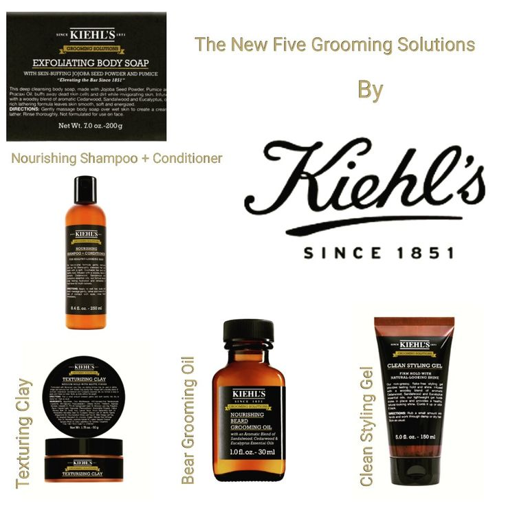 Kiehl's Since 1851 proudly presents Grooming Solutions, a brand new essential toolkit for grooming, styling hairstyles, and beards. http://www.missfashionnews.com/new-kiehls-grooming-solutions/