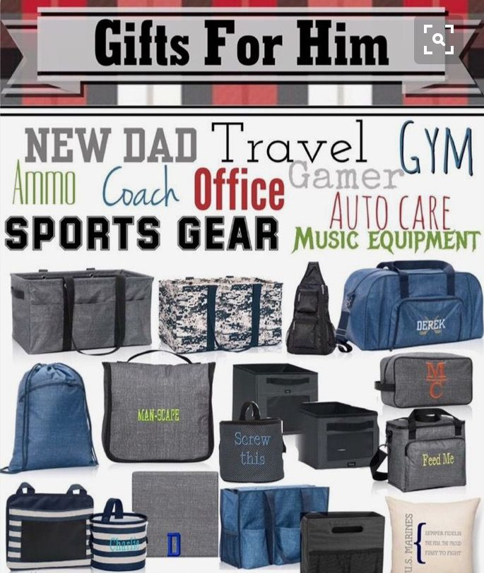 Great gifts for Dad and Grandpa! Thirty-One