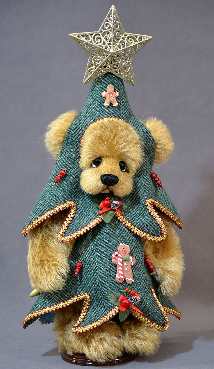 Oh Christmas Tree Bear from www.vickylougher.com