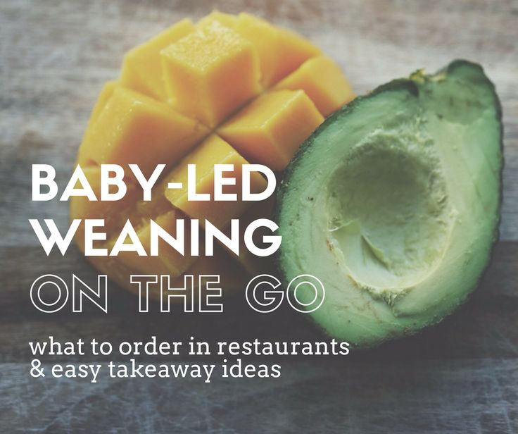 Baby-Led Weaning On The Go: Easy Takeaway Ideas!