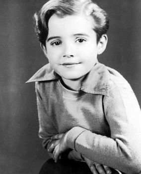 """Scott Hastings """"Scotty"""" Beckett was an American child actor. He starred in the Our Gang and Rocky Jones, Space Ranger series.  1929-68"""