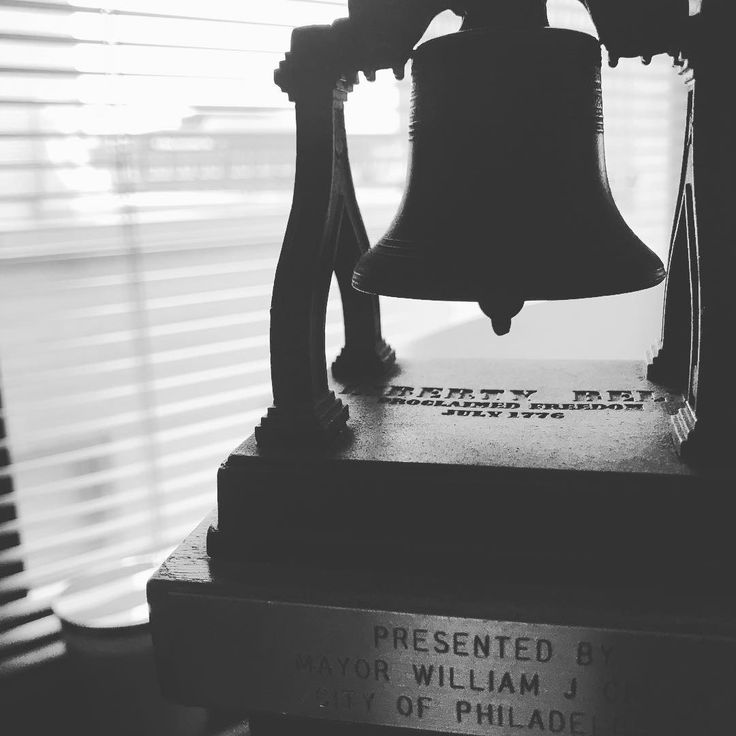 Ive talked about my grandfather on here before - he gave me this liberty bell. Its one of the gifts he received when working for the Mayor of Philadelphia for 3 decades.  I love this bell and keep it in my office as a reminder of all the hard work he did to create a good life for my mom and uncle and to never forget where Ive come from.  My grandad would wake up and be to the cheesesteak shop he owned (Ernies corner) by 6am. Hed open the store get the coffee brewing and then take the train…