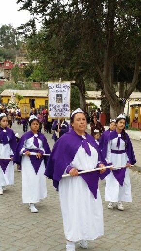Baile religioso de El Molle
