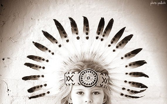 CHRISTMAS SALE Kids Native American by TheLandOfCockaigne on Etsy