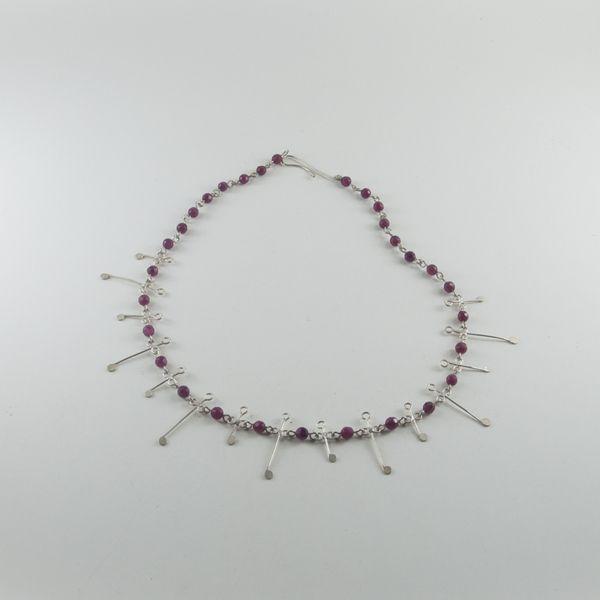 Gümüş Kolye (Silver Necklace with Jade Stone) - ZFRCKC Jewelry Design - www.zfrckc.com