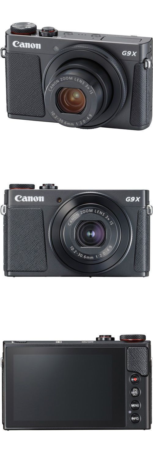 photo and video: Canon Powershot G9 X Mark Ii Digital Camera - Black -> BUY IT NOW ONLY: $398.12 on eBay!