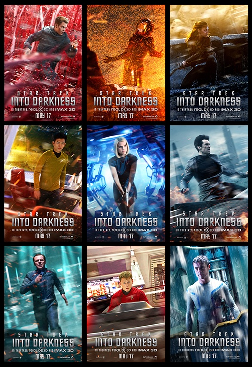 Re-pin this if you're excited to see Star Trek Into Darkness!