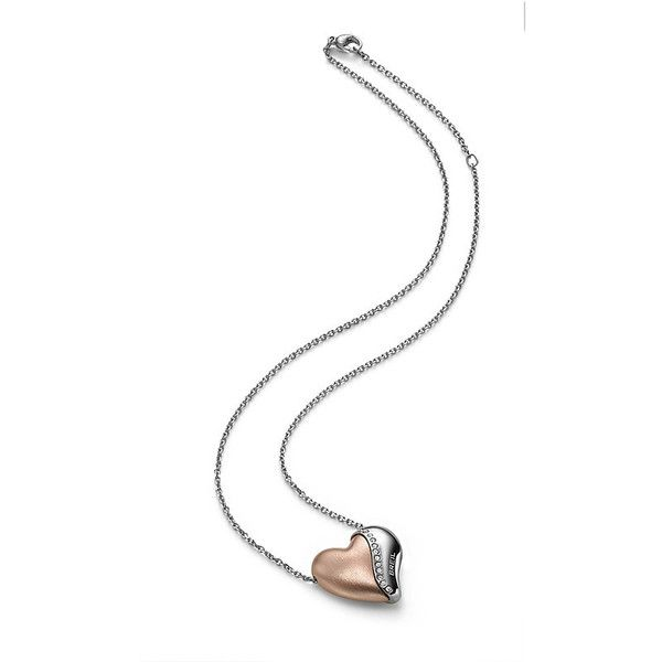 Collana Pendente Donna Breil Heartbreaker Acciaio Swarovski Tj 1547