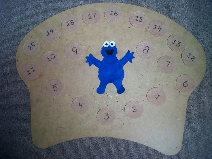 Cookie Monster Set $7.00