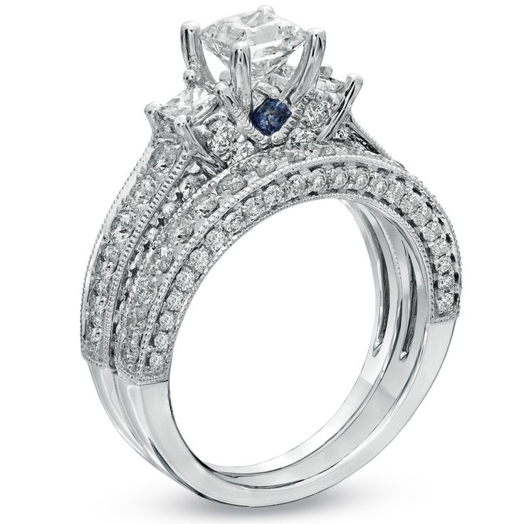 Love these rings. Vera Wang
