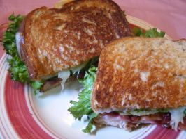 Turkey Cranberry Ciabatta Sandwich - similar to the one that used to be on Applebee's menu.