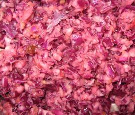 Rezept Rotkrautsalat / Rotkohlsalat (einfach + lecker) - Rezept des Tages 09.10.15 von Tuppence - Rezept der Kategorie Vorspeisen/Salate