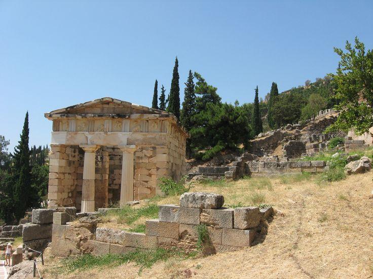 Delphi. Treasury of Athens