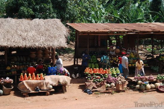 Nicely Arranged Market Stalls in Uganda by TravelPod Member Maxigrove