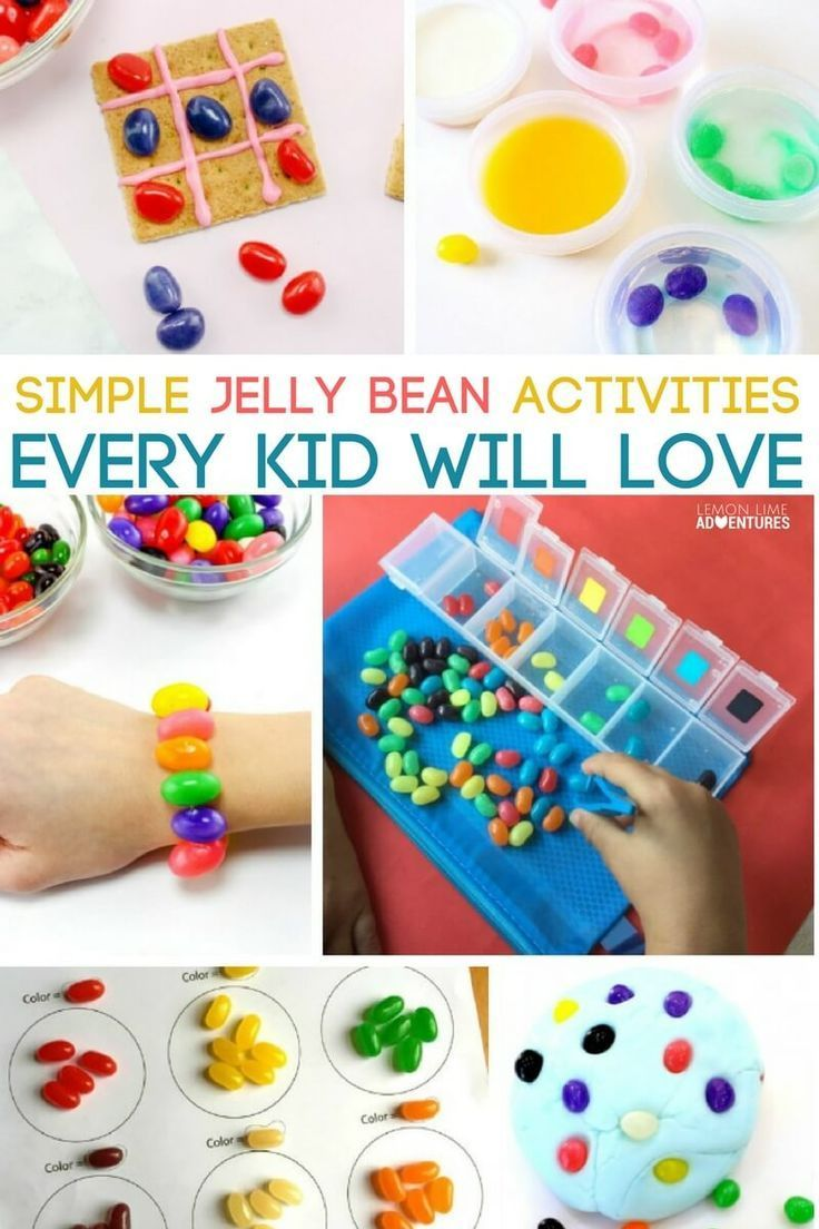 Water and ice activities summer camp at home with 12 weeks of easy - Simple Jelly Bean Activities Every Kid Will Love