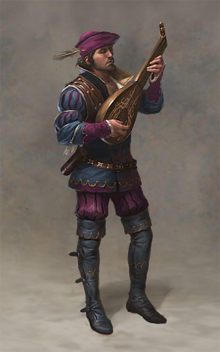 Dandelion Witcher 2 layers by Marmad by Scratcherpen.deviantart.com on @DeviantArt