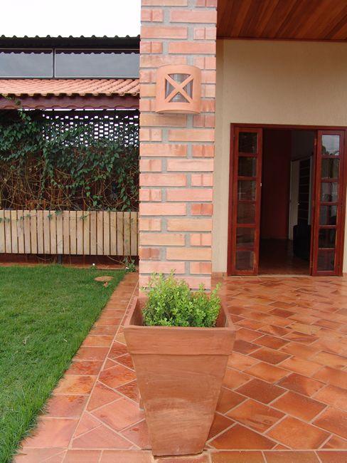 Cer mica cotto figueira palapa pinterest pisos for Ceramica patios fotos