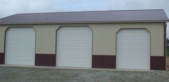 Cheap pole barn special the clearance building for Pole barn dimensions
