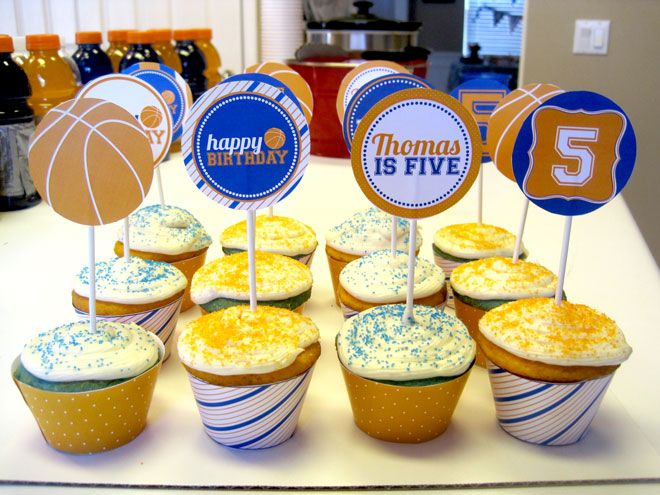 Love The Day Customer Parties:: Basketball Birthday Party Feature | Love The Day