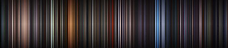 La paleta de colores de La Guerra de las Galaxias #StarWars