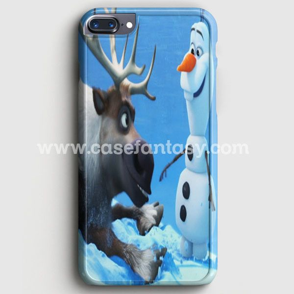 Sven And Olaf Funny Cartoon iPhone 7 Plus Case | casefantasy